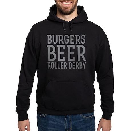 I Love Roller Derby Zip Hoodie 8tWW2WzrY6
