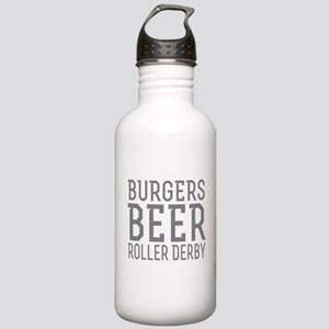 Burgers Beer Roller De Stainless Water Bottle 1.0L