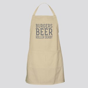 Burgers Beer Roller Derby Apron