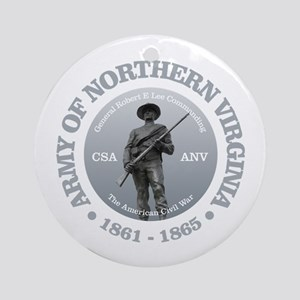 Army of Northern Virginia (GR) Round Ornament