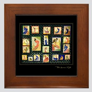 """Flamenco-2-"" Framed Tile"