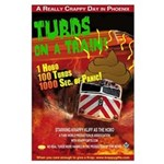 Turds on a Train poster