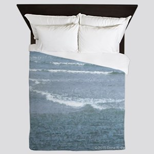 Marginal Way Ocean Waves Queen Duvet