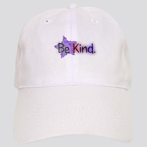 Be Kind with Colorful Text and Purple Star Basebal
