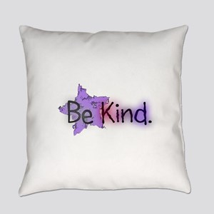 Be Kind with Colorful Text and Purple Star Everyda
