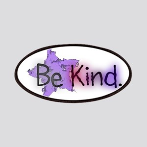 Be Kind with Colorful Text and Purple Star Patch