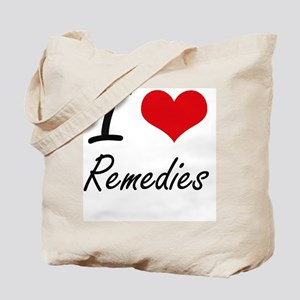 I Love Remedies Tote Bag