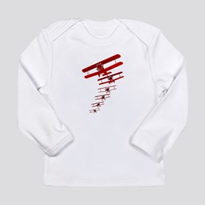 Retro Biplane Long Sleeve T-Shirt