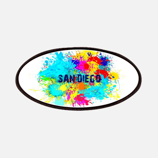 SAN DIEGO CALIFORNIA BURST Patch