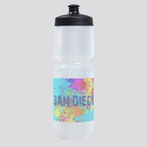 SAN DIEGO CALIFORNIA BURST Sports Bottle