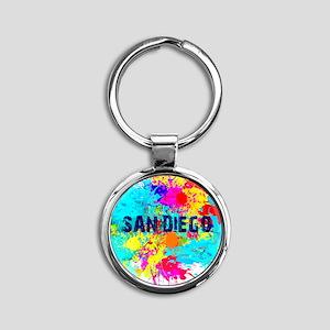 SAN DIEGO BURST Keychains