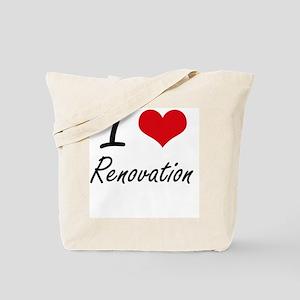 I Love Renovation Tote Bag