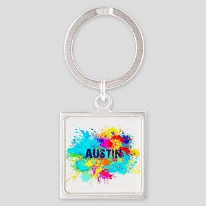 Austin Burst Keychains
