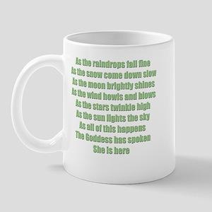 She is Here Mug