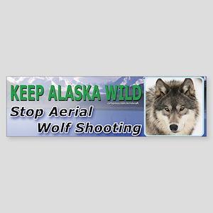Keep Alaska Wild Bumper Sticker