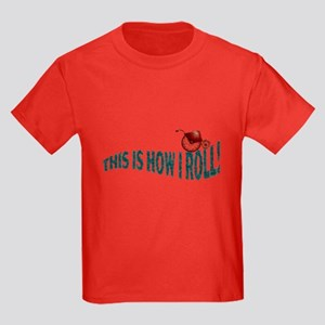 Wheelchair Kid! Kids Dark T-Shirt