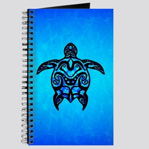 Tribal Turtle Hibiscus Journal