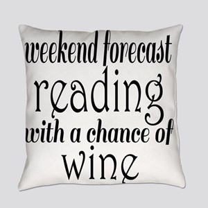 Reading and Wine Everyday Pillow