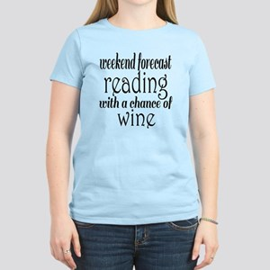 Reading and Wine Women's Light T-Shirt