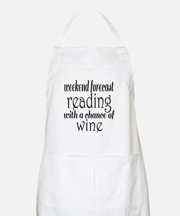 Reading and Wine Apron