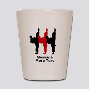 Martial Arts Shot Glass