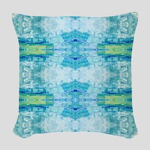 Air and Sea Woven Throw Pillow