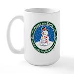 Vintage Masonic Christmas 2007 Large Mug