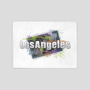 Los Angeles 5'x7'Area Rug