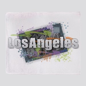 Los Angeles Throw Blanket