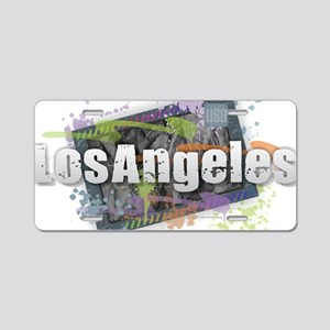 Los Angeles Aluminum License Plate
