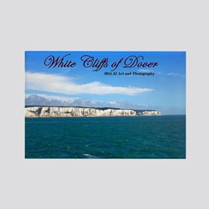 White Cliffs Of Dover Rectangle Magnet Magnets