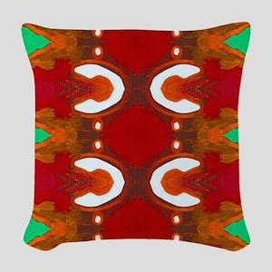 Merry Christmas Woven Throw Pillow