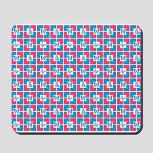 BUTTERFLY TILE Mousepad