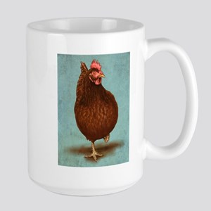 Rhode Island Red Stainless Steel Travel Mugs