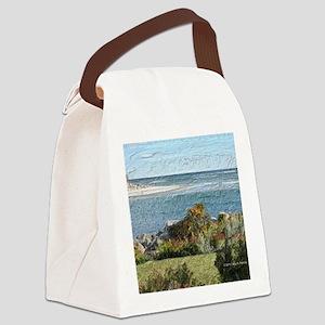 Ogunquit River Blanket Canvas Lunch Bag
