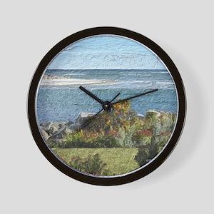 Ogunquit River Blanket Wall Clock