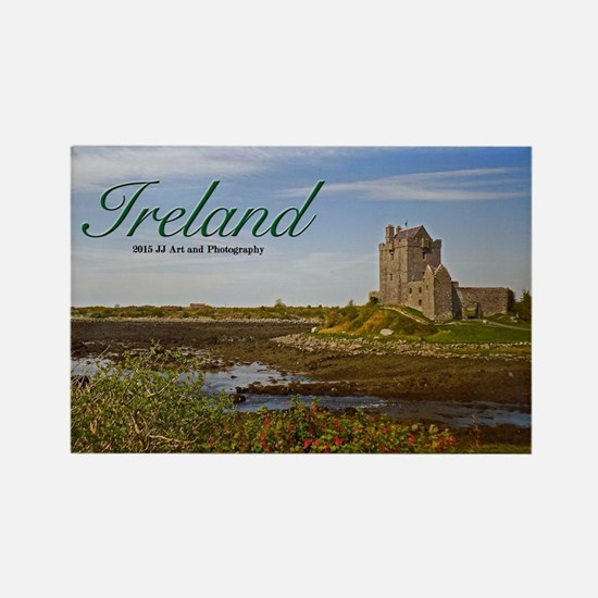 Ireland - Country Castle Rectangle Magnet Magnets