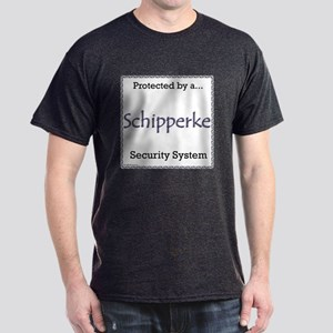 Schipperke Security Dark T-Shirt