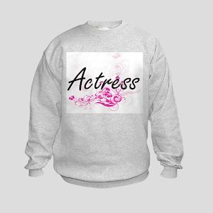 Actress Artistic Job Design with F Kids Sweatshirt