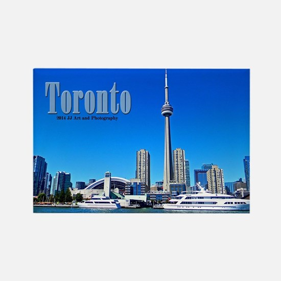 Toronto Skyline Rectangle Magnet Magnets