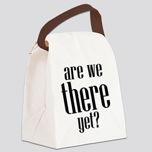 Are We There Yet? Canvas Lunch Bag