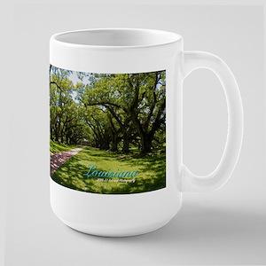 Louisiana Plantation Large Mug Mugs