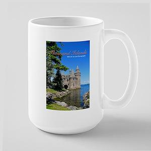 Thousand Island Castle Large Mug Mugs