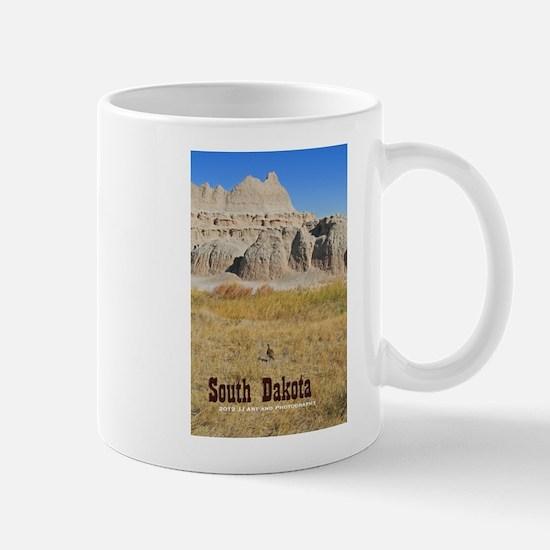 South Dakota Badlands And Bird Mug Mugs