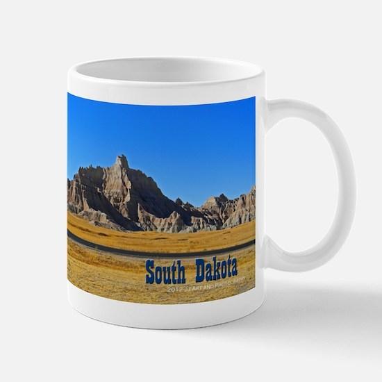 South Dakota Badlands Mug Mugs
