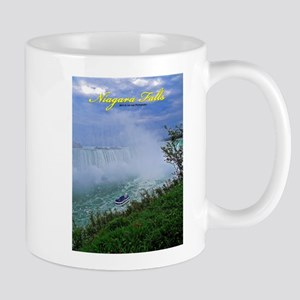 Niagara Falls And Boat Mug Mugs