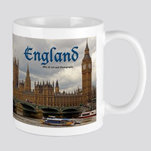 England Big Ben And Parliament Mug Mugs