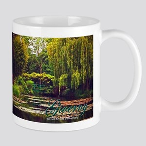Giverny Monet's Garden Mug Mugs