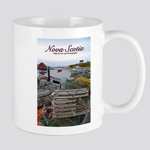 Nova Scotia Fishing Village Mug Mugs