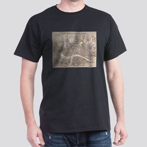 Vintage Map of London England (1845) T-Shirt